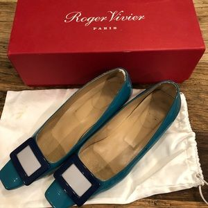 original Roger Vivier with shoe box, and dust bag